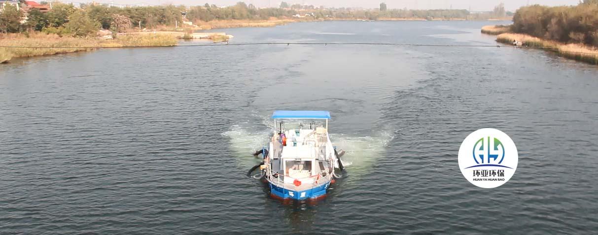 河道治理与生态清淤船